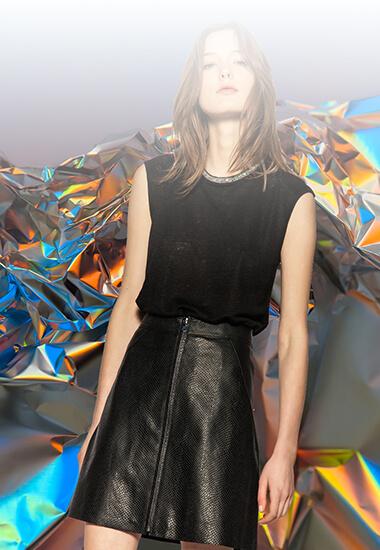 Mode d'emploi : Comment porter la jupe en cuir ?