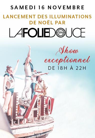La Folie Douce & The Village, une nocturne spectaculaire !