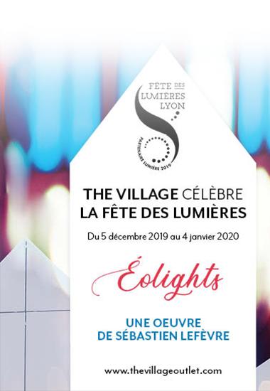 La Fête des Lumières à The Village !